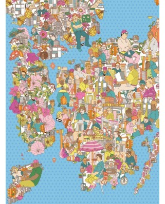 Puzzle 1000 piese - City of Dreamers (New-York-Puzzle-SW2013)