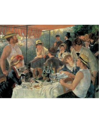 Puzzle 1000 piese - Auguste Renoir: The Luncheon of the Boating (Pomegranate-AA623)