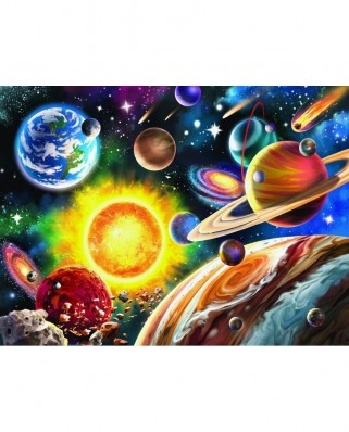 Puzzle 1000 piese - Solar System (Sunsout-42916)