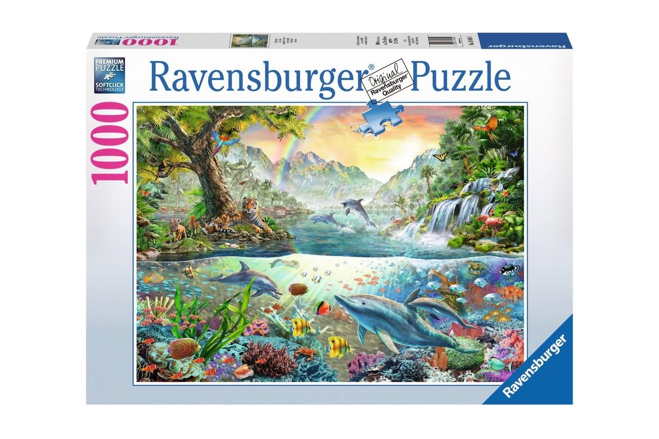 Puzzle Ravensburger - Paradis, 1.000 piese (19484)