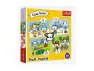 Puzzle 12/15/20/24 piese - Kittykit day (Trefl-34372)