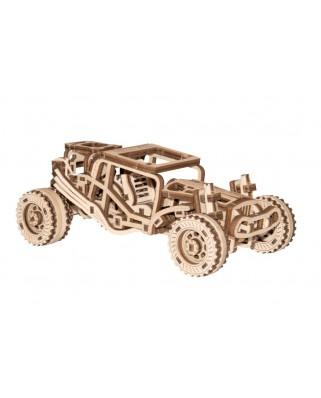 Puzzle 3D cu 137 piese din lemn - Buggy (Wooden-City-WR336-8688)