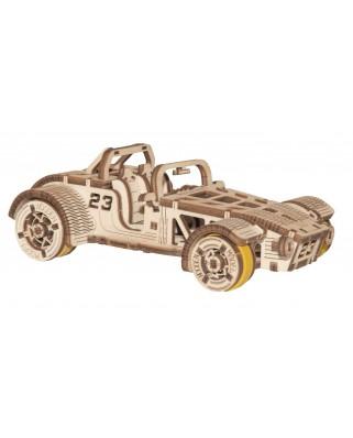 Puzzle 3D cu 111 piese din lemn - Roadster (Wooden-City-WR337-8695)