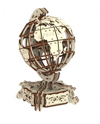 Puzzle 3D cu 231 piese din lemn - World Globe (Wooden-City-WR341-8909)