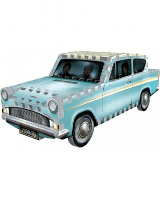 Puzzle 3D cu 130 piese - Harry Potter - Flying Ford Anglia (Wrebbit-0202)