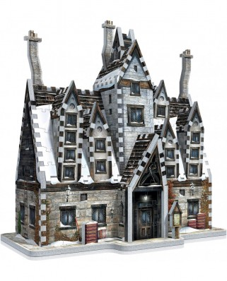 Puzzle 3D cu 395 piese - Harry Potter: Hogsmeade - The Three Broomsticks (Wrebbit-1012)
