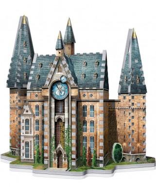 Puzzle 3D cu 420 piese - Harry Potter - The Clock Tower (Wrebbit-1013)