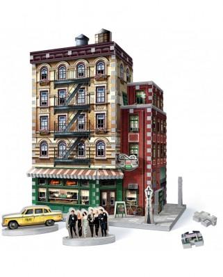 Puzzle 3D cu 440 piese - Friends - Central Perk (Wrebbit-1015)