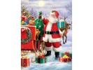 Puzzle 1000 piese - Simon Tread: Santa with Sled (Eurographics-6000-5639)