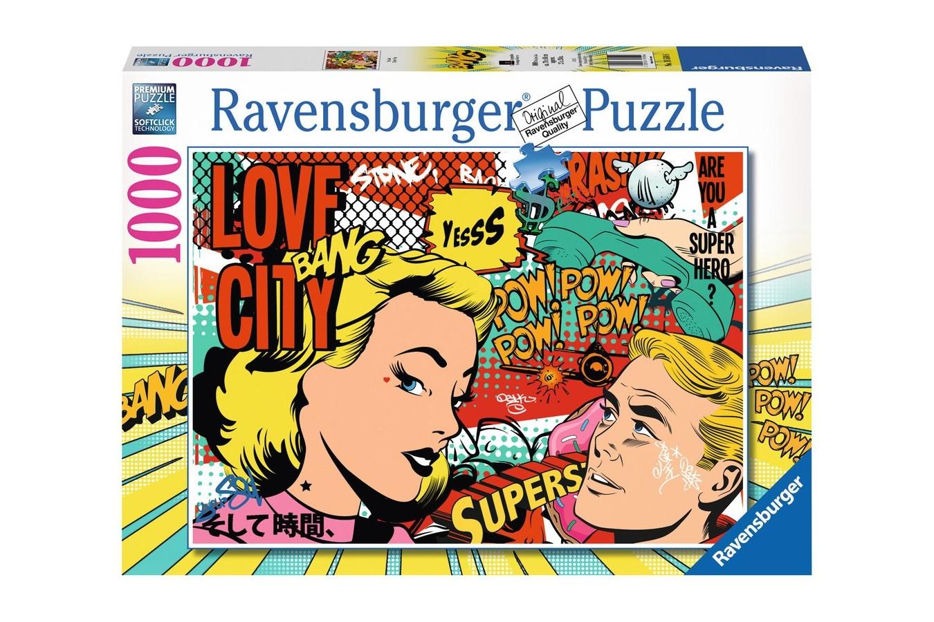 Puzzle Ravensburger - Arta Pop, 1.000 piese (19504)