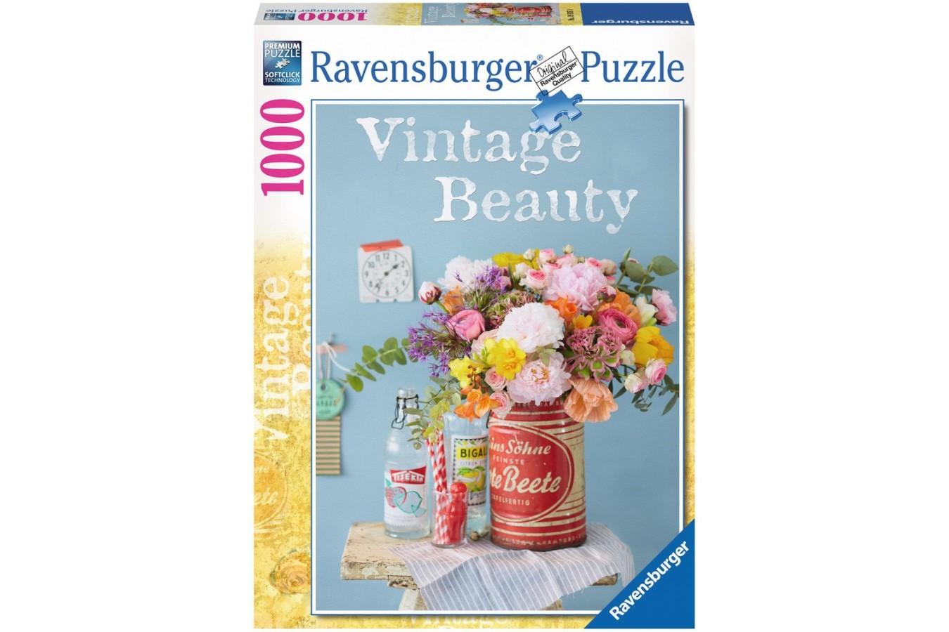 Puzzle Ravensburger - Flori Antice, 1000 piese (19505)