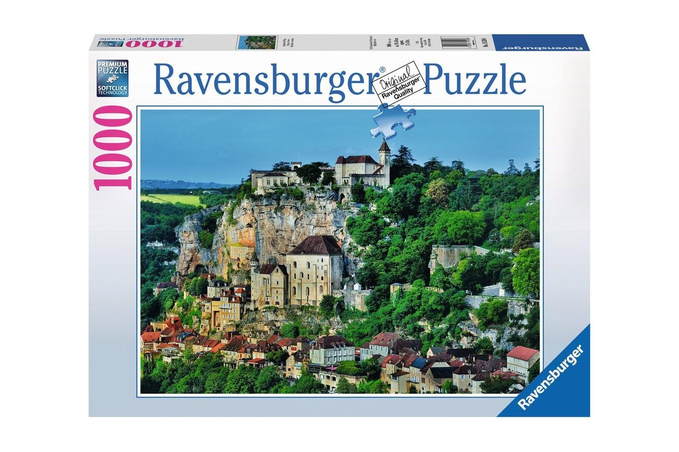 Puzzle Ravensburger - Sat Montan, 1000 piese (19520)