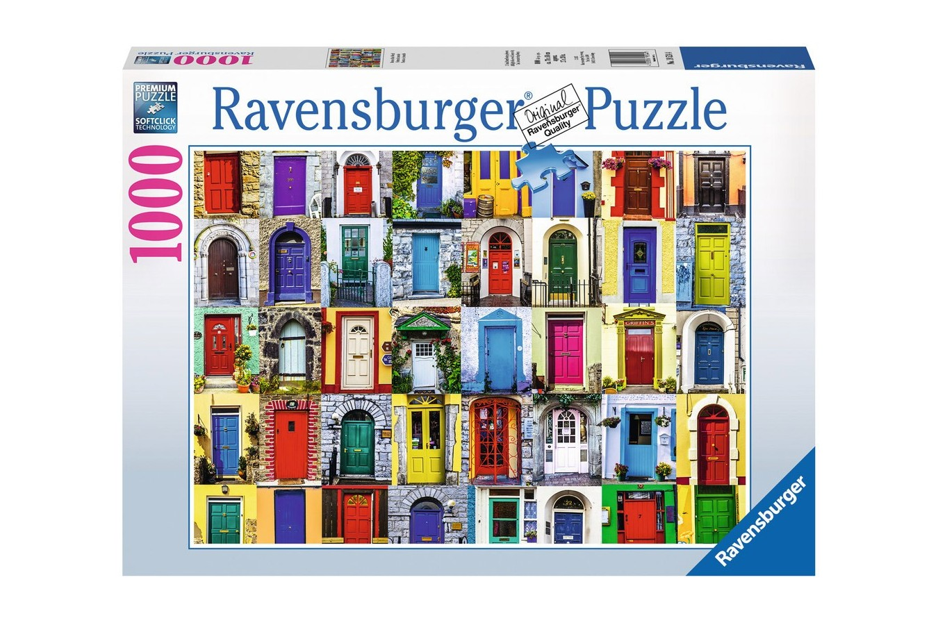 Puzzle Ravensburger - Usile Lumii, 1000 piese (19524)