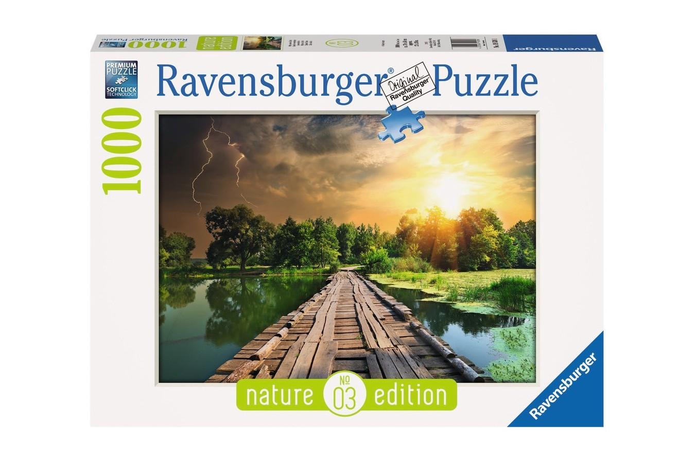 Puzzle Ravensburger - Cer Mistic, 1.000 piese (19538)
