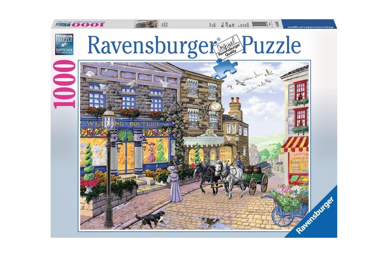 Puzzle Ravensburger - Magazinul De Nunti, 1.000 piese (19598)