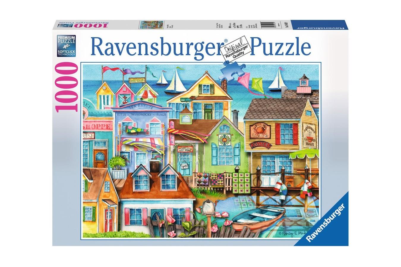 Puzzle Ravensburger - Debarcader, 1000 piese (19602)