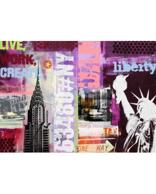 Puzzle Ravensburger - New York, 1.000 piese (19613)