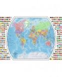 Puzzle Ravensburger - Harta Politica A Lumii, 1000 piese (19633)