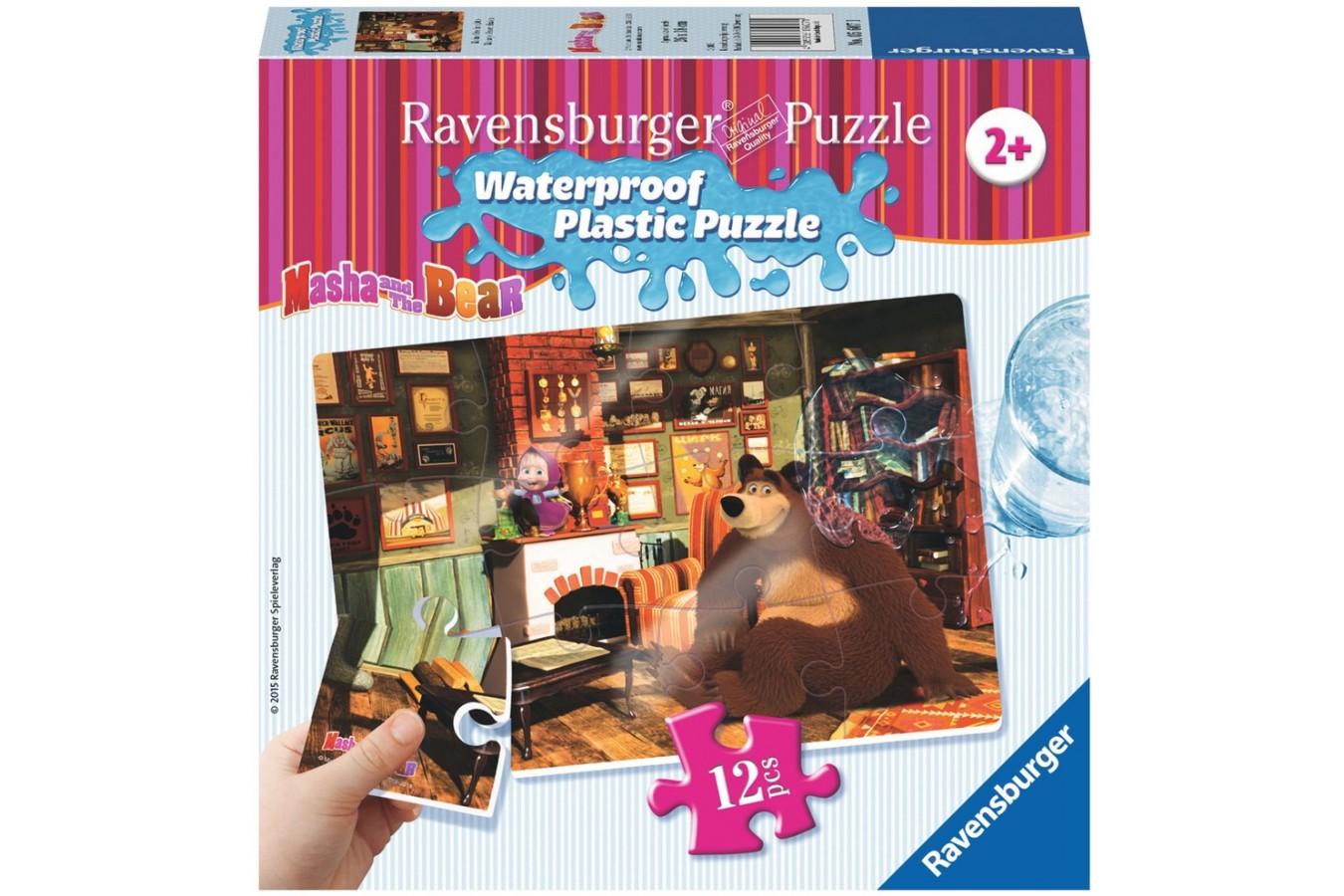 Puzzle Ravensburger - Masha Si Ursul, 12 piese (05607)