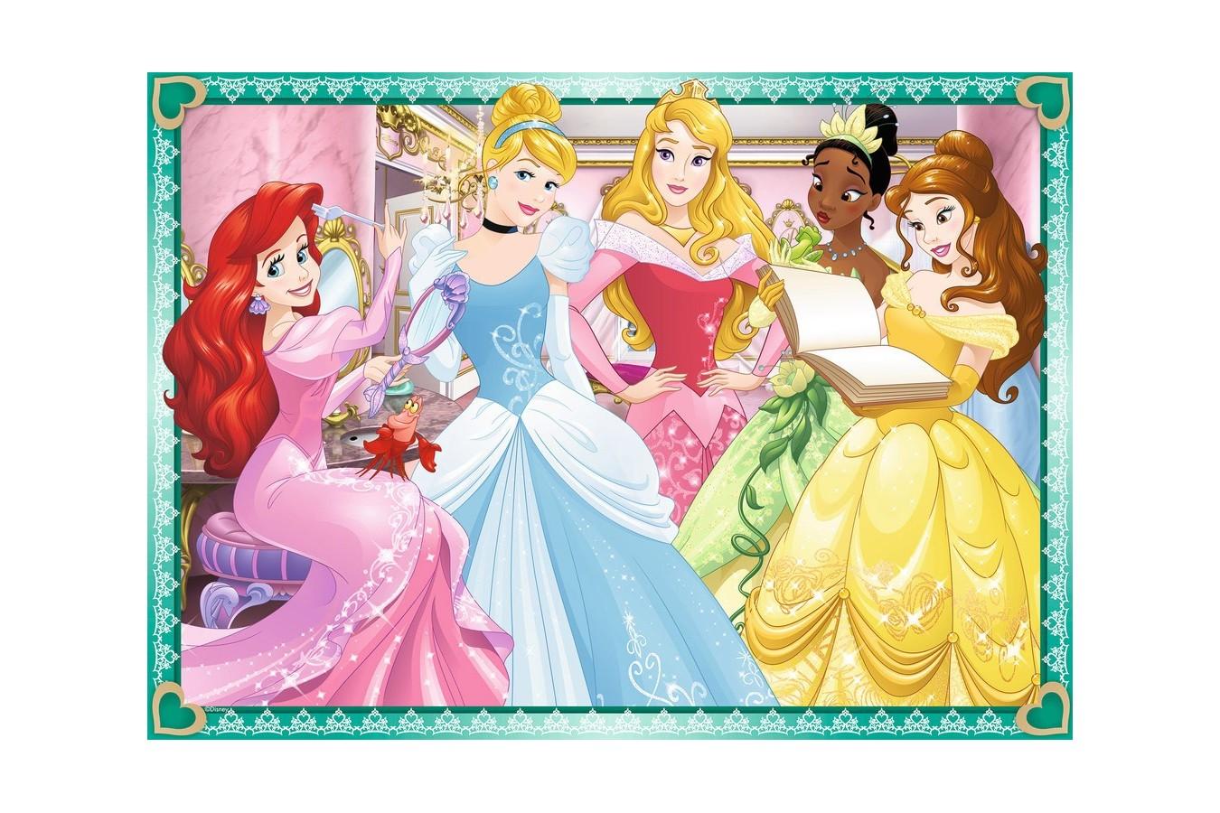 Puzzle Ravensburger - Printesele Disney, 100 piese (07011)