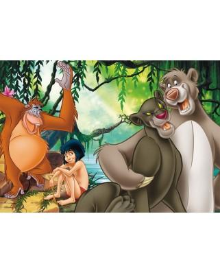 Puzzle Ravensburger - Cartea Junglei, 2x12 piese (07587)