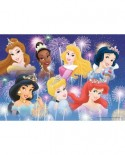 Puzzle Ravensburger - Printesele Disney, 2x24 piese (08872)