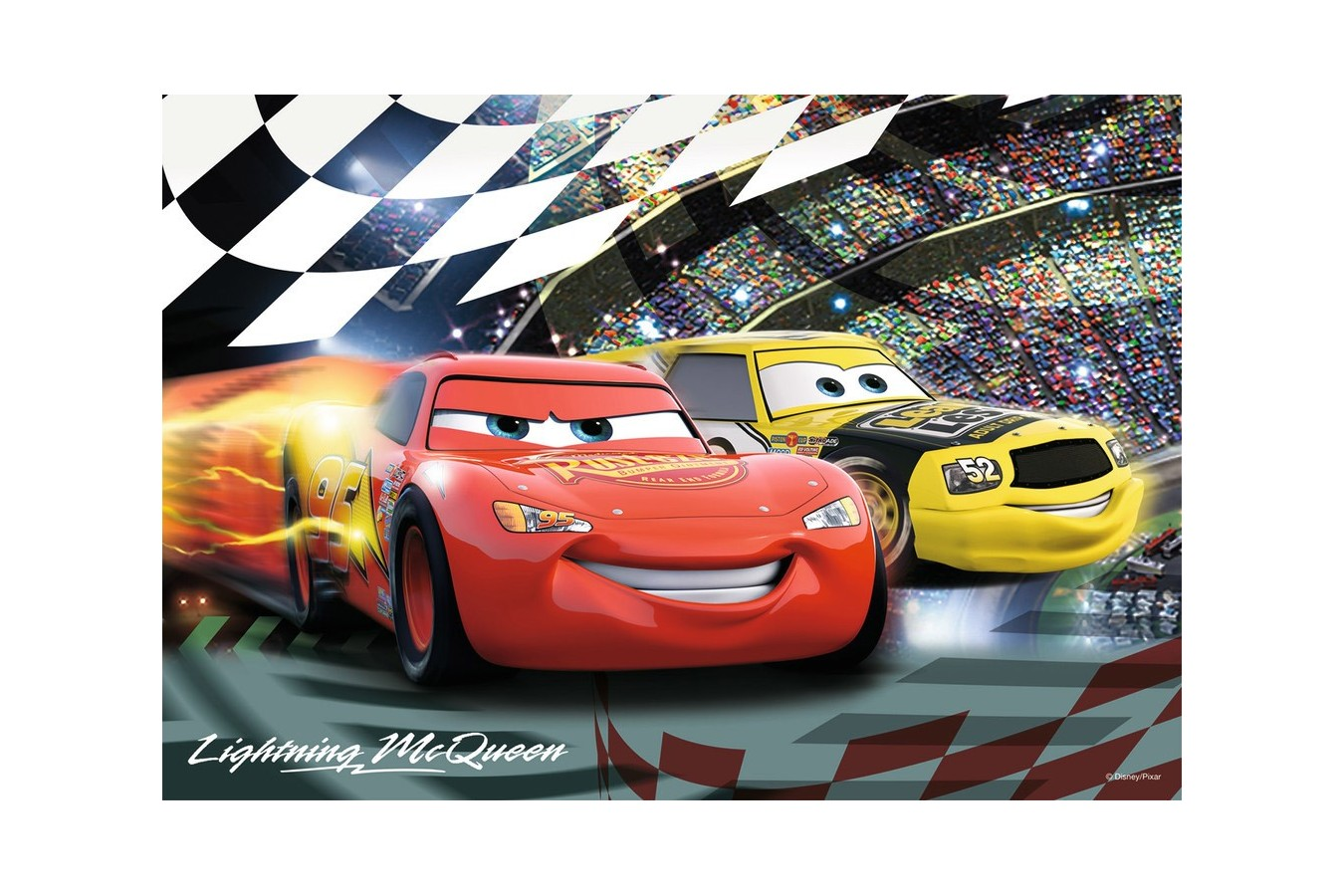 Puzzle Ravensburger - Cars, 2x24 piese (08961)