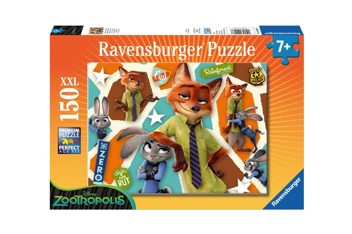 Puzzle Ravensburger - Zootopia, 150 piese (10028)