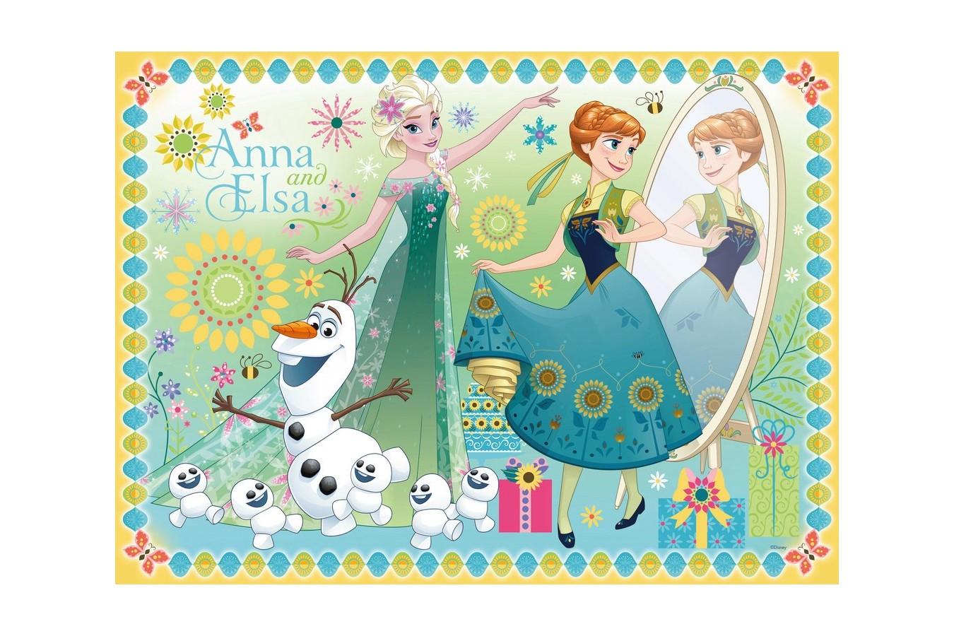 Puzzle Ravensburger - Frozen, 100 piese (10584)