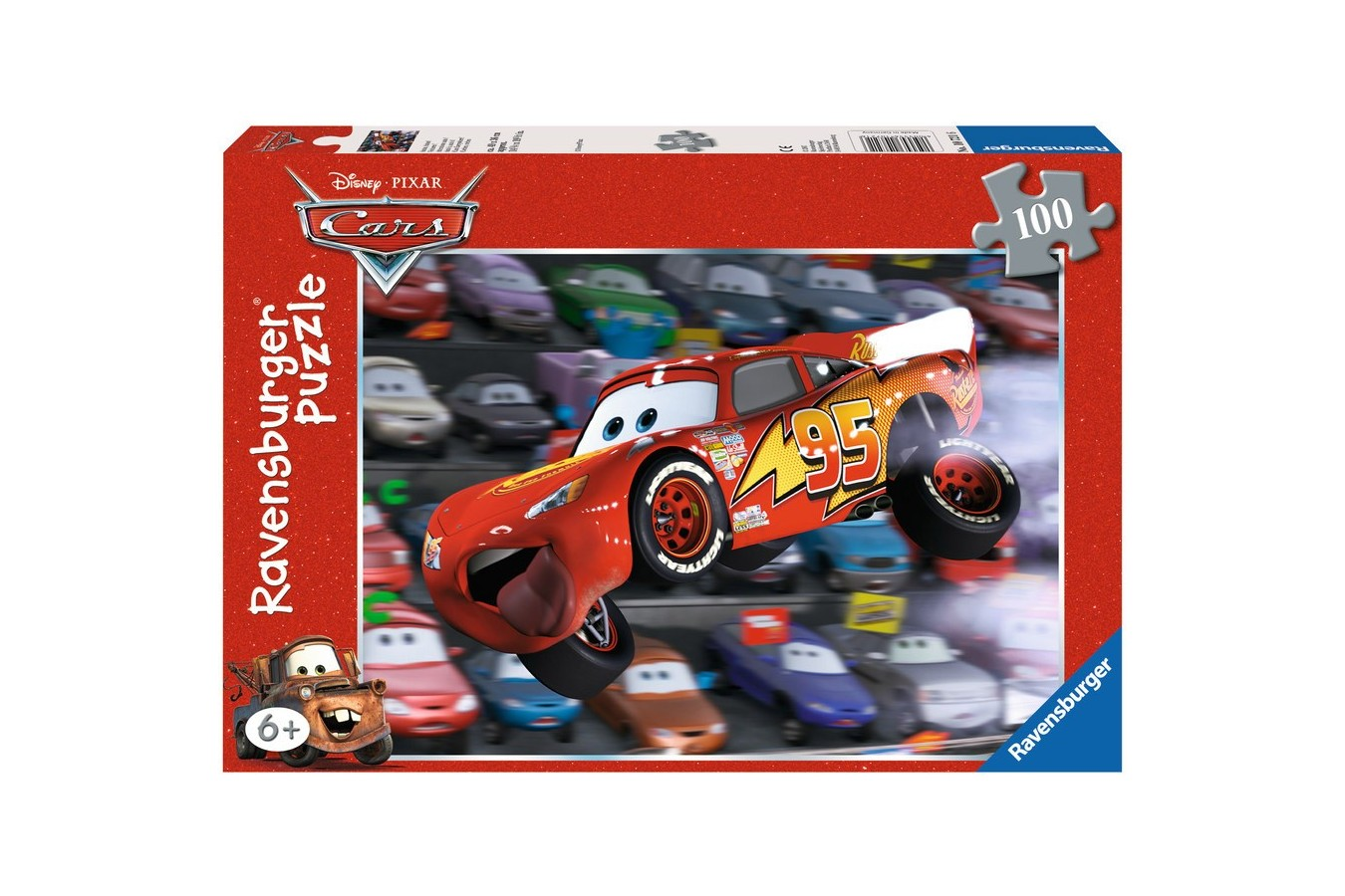 Puzzle Ravensburger - Cars, 100 piese (10721)