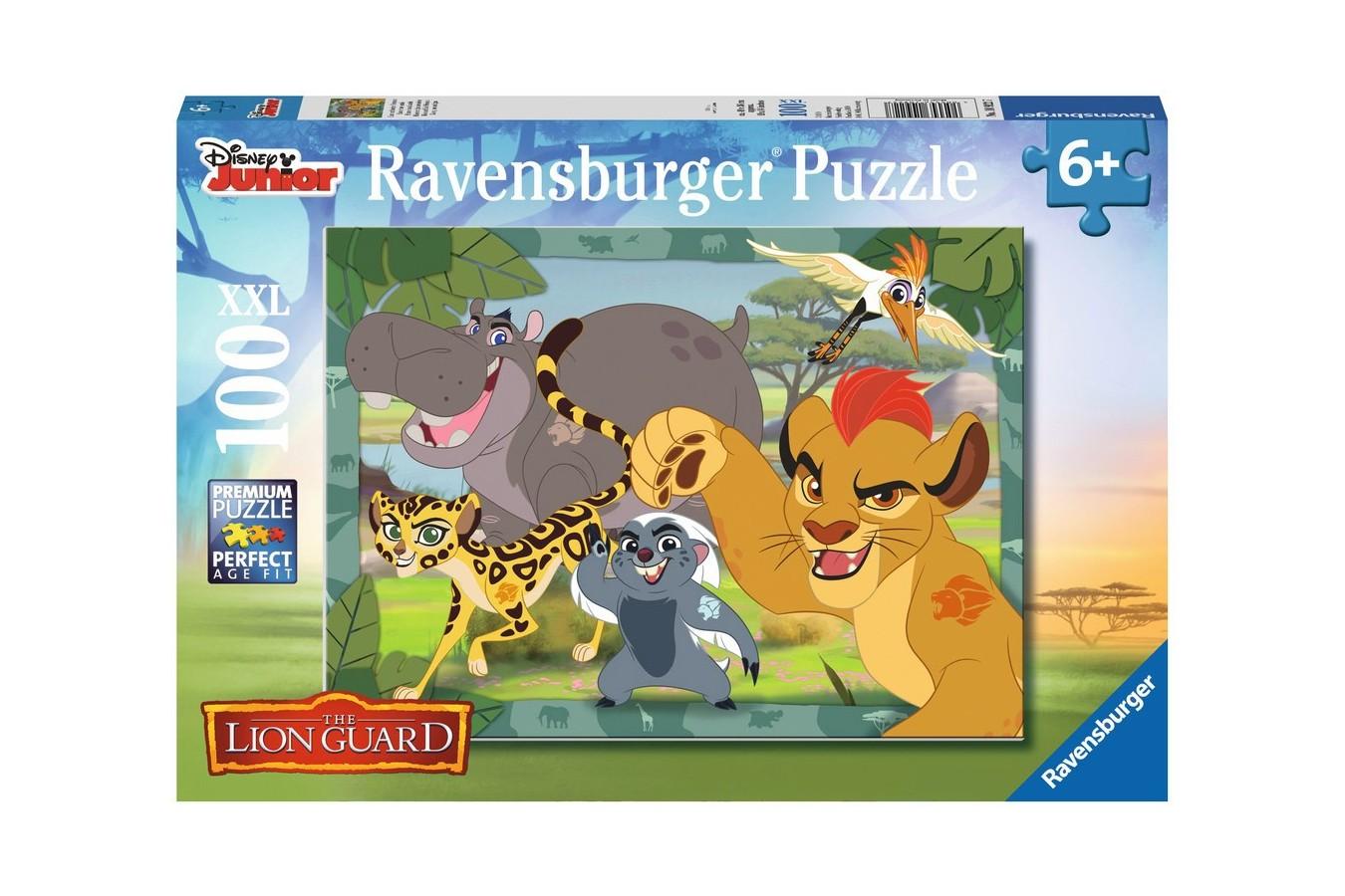 Puzzle Ravensburger - Garda Felina, 100 piese (10922)