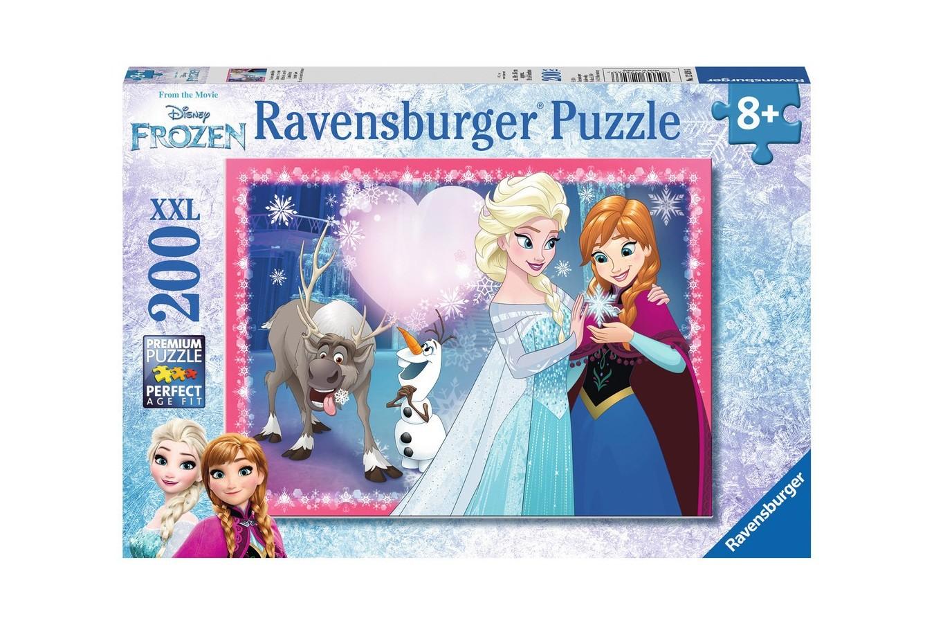 Puzzle Ravensburger - Frozen, 200 piese (12826)
