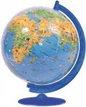 Puzzle glob Ravensburger - 3D Globul Lumii pentru Copii, 180 piese (12328)