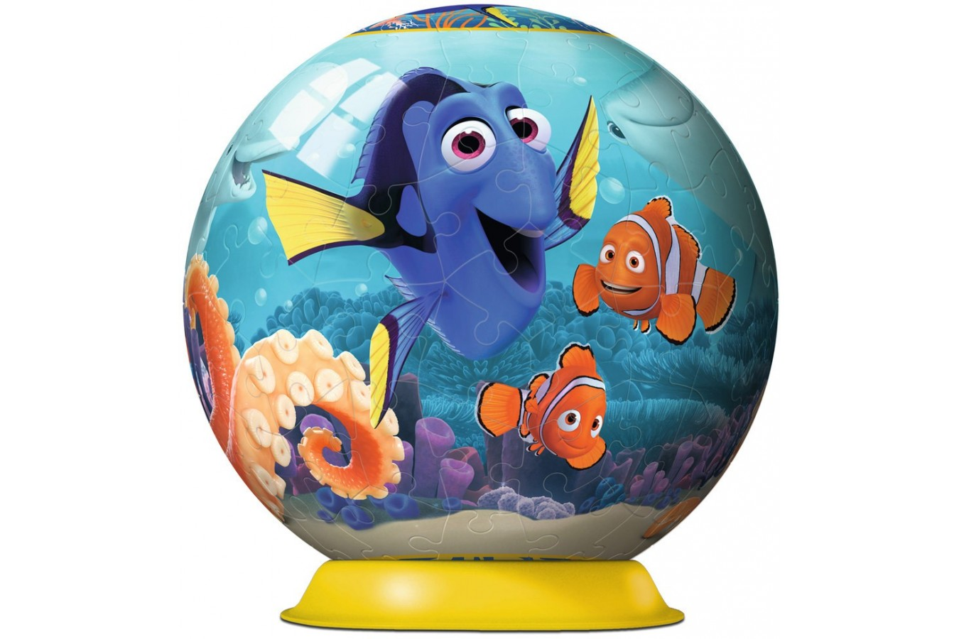Puzzle glob Ravensburger - In Cautarea Lui Dory, 108 piese (12264)