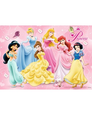 Puzzle Ravensburger - Printesele Disney, 15/20/25 piese (07228)