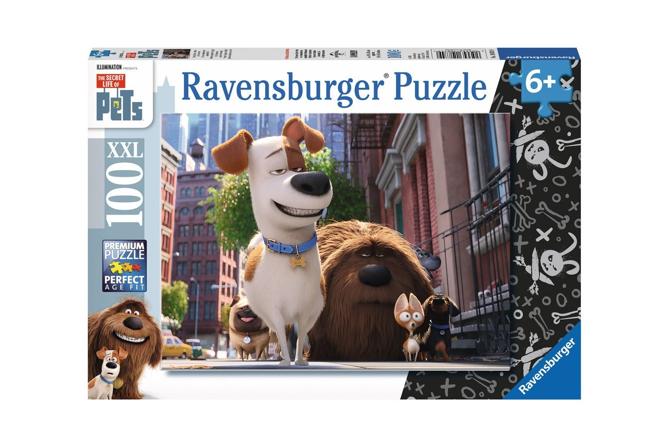 Puzzle Ravensburger - Viata Secreta A Animalelor, 100 piese (10874)