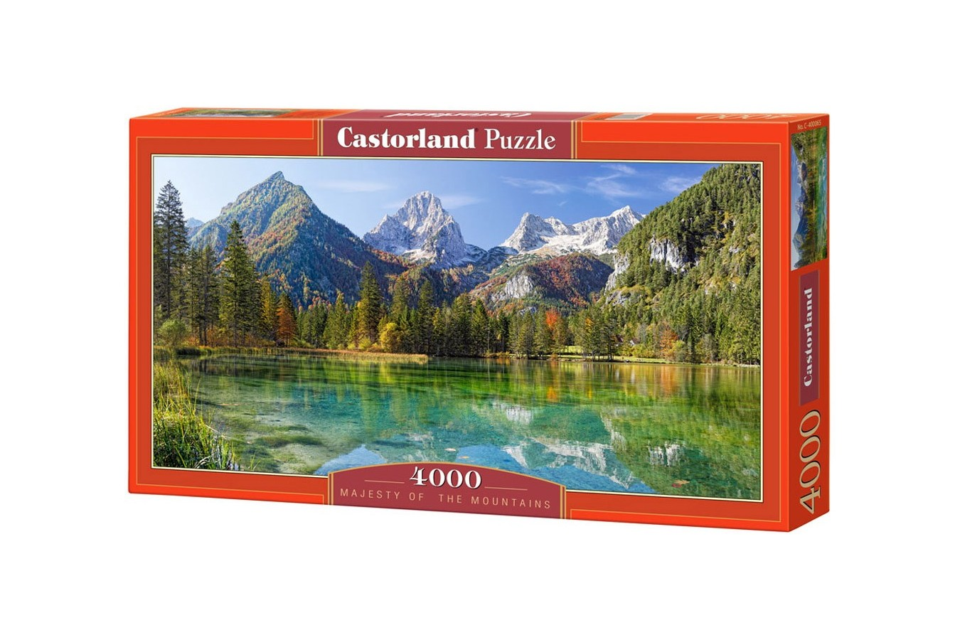 Puzzle Castorland - Majesty of Mountains, 4.000 piese (400065)