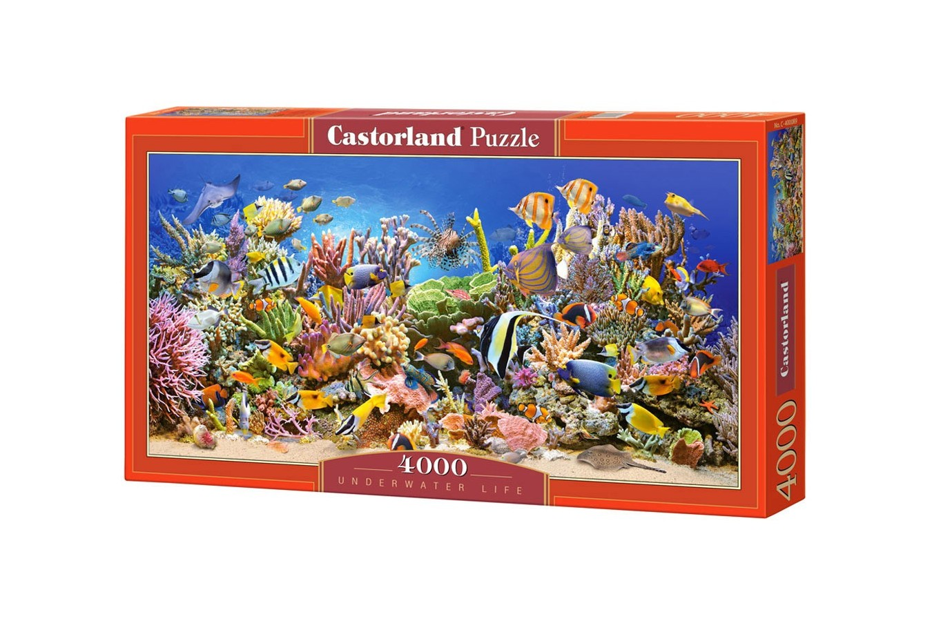 Puzzle Castorland - Underwater Life, 4.000 piese (400089)