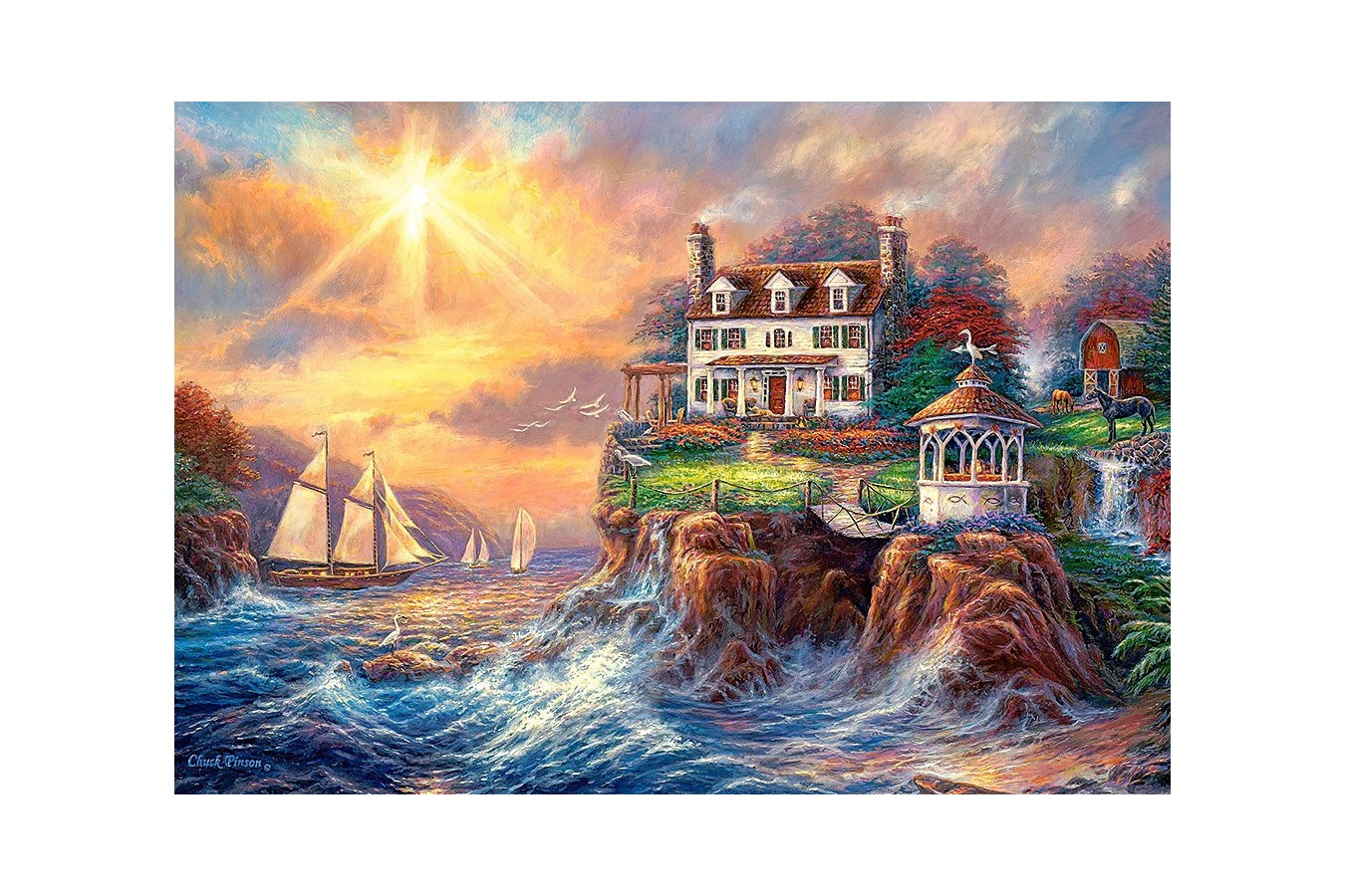 Puzzle Castorland - Above the Fray, 3.000 piese (300372)