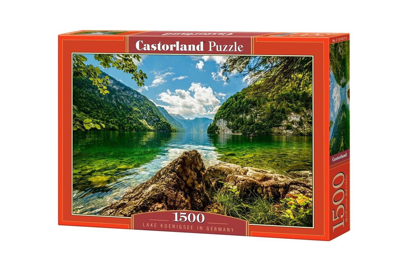 Puzzle Castorland - Lake Koenigsee Pressure, 1.500 piese (151417)