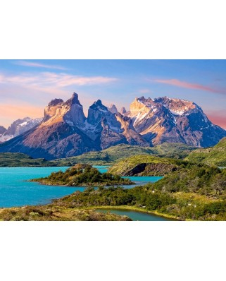 Puzzle Castorland - Torres del Paine, Patagonia, Chile, 1.500 piese (15095)
