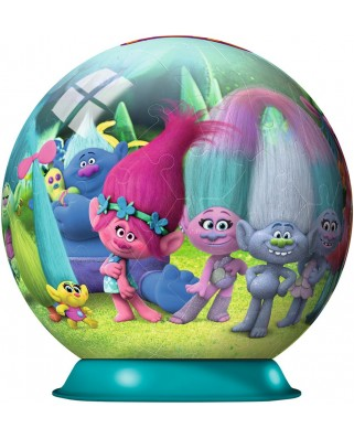 Puzzle glob Ravensburger - Trolls, 72 piese (12197)