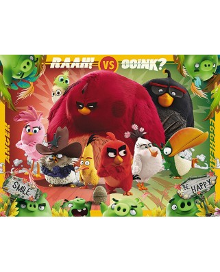 Puzzle Ravensburger - Angry Birds, 100 piese (10727)
