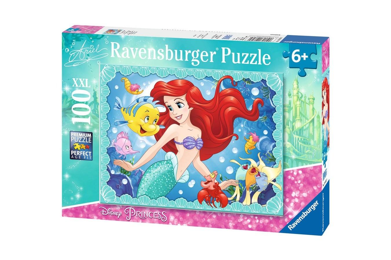 Puzzle Ravensburger - Ariel, 100 piese (10858)