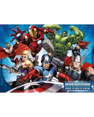 Puzzle Ravensburger - Avengers, 100 piese (07076)