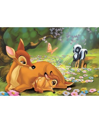 Puzzle Ravensburger - Bambi, 2x24 piese (08852)