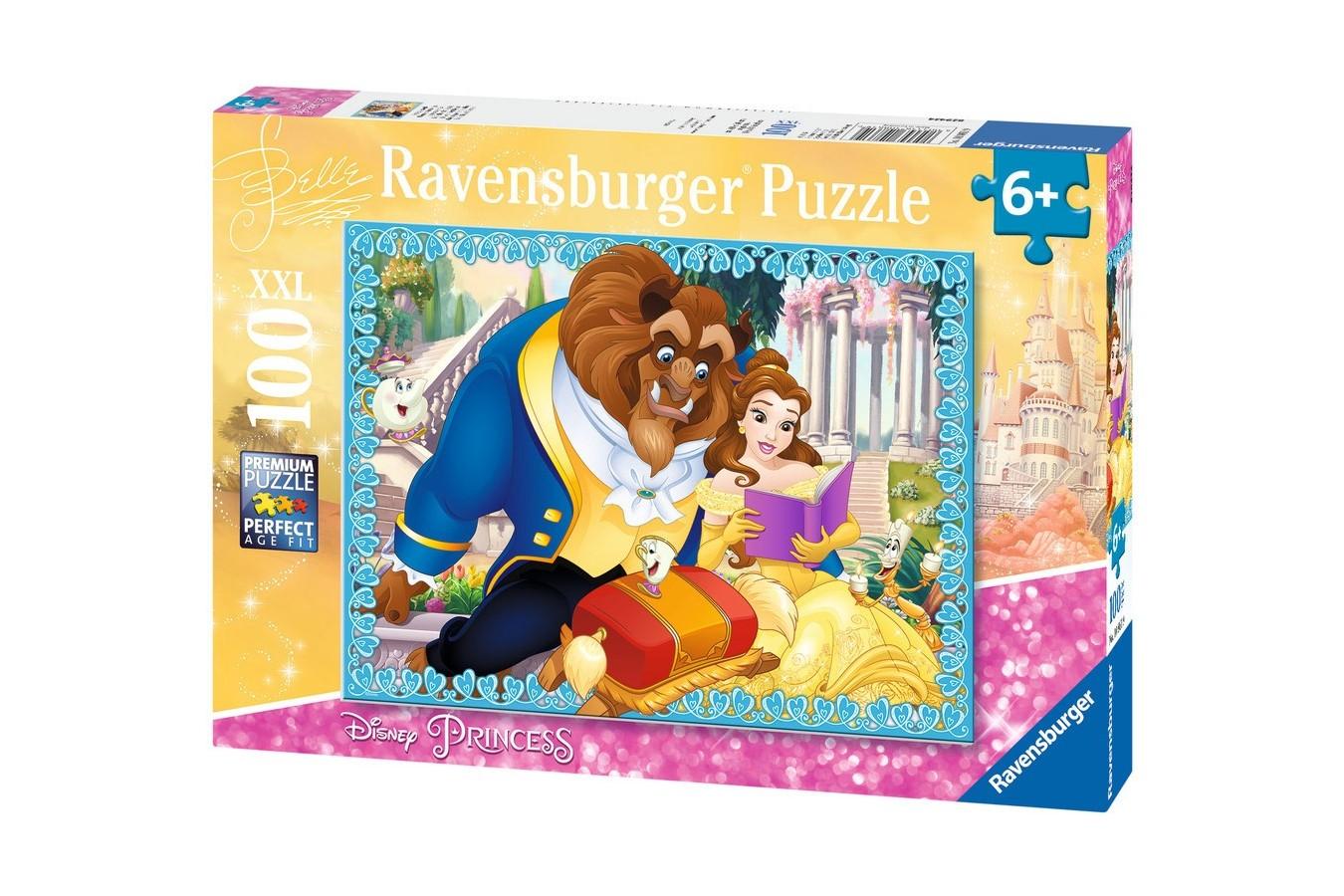 Puzzle Ravensburger - Belle, 100 piese (10861)