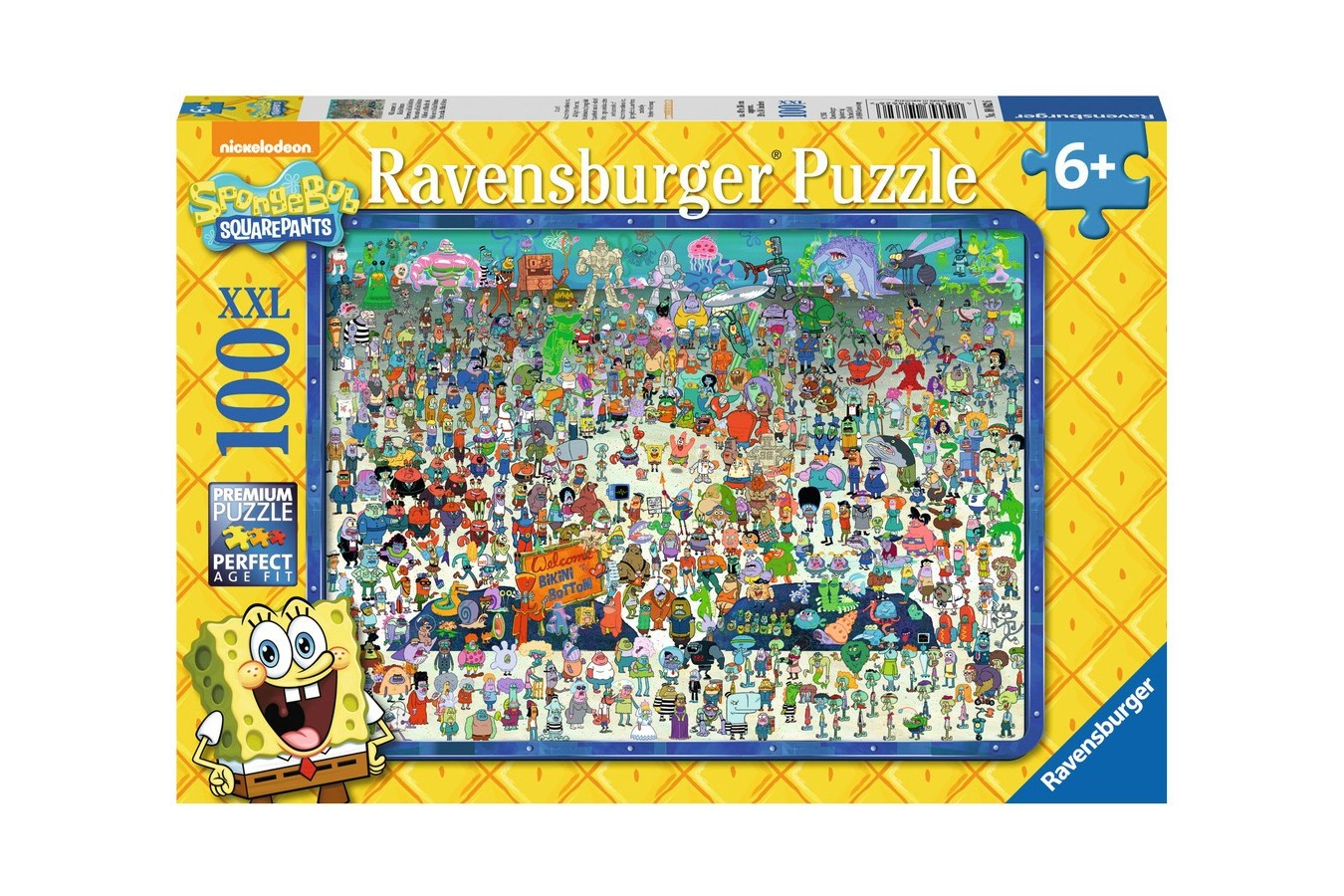 Puzzle Ravensburger - Buretele Bob, 100 piese (10862)