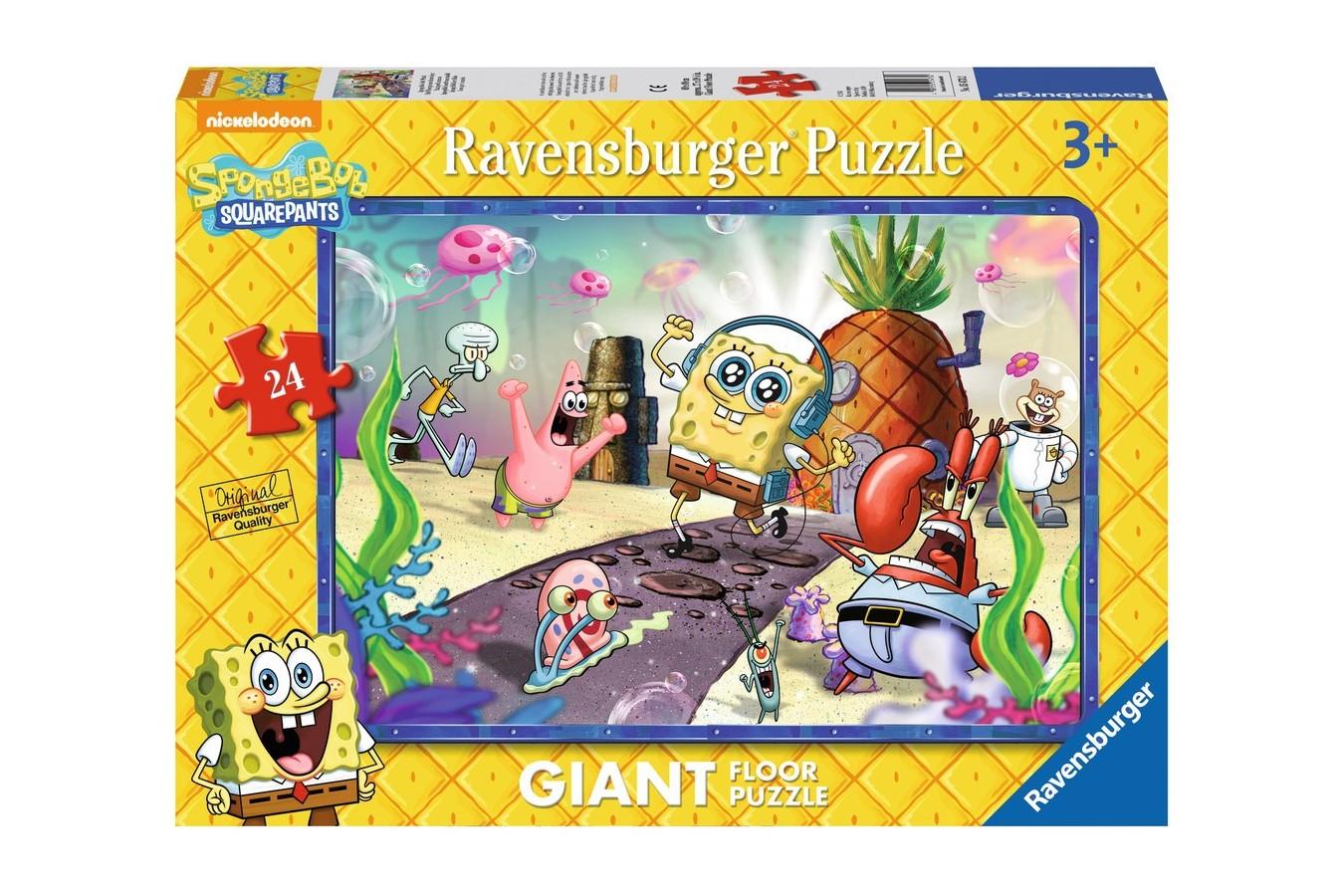 Puzzle Ravensburger - Buretele Bob, 24 piese (05473)