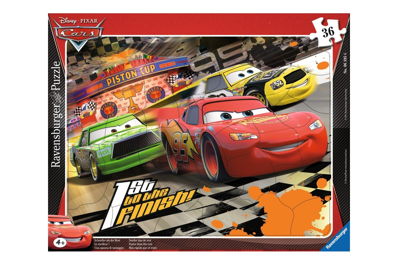 Puzzle Ravensburger - Cars, 36 piese (06395)